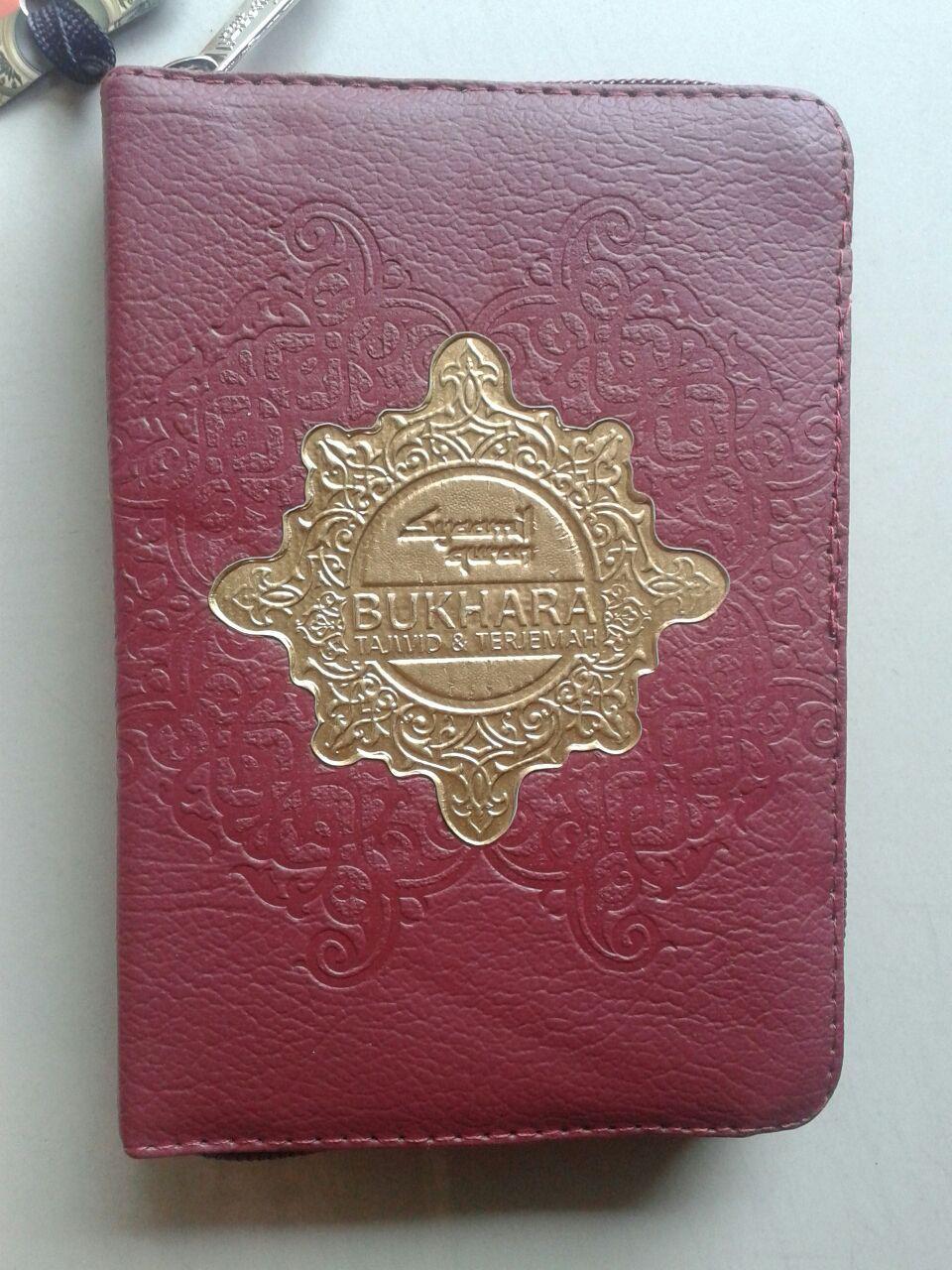 Al-Qur'an Terjemah Bukhara Syamil Ritsleting Tajwid Ukuran A6
