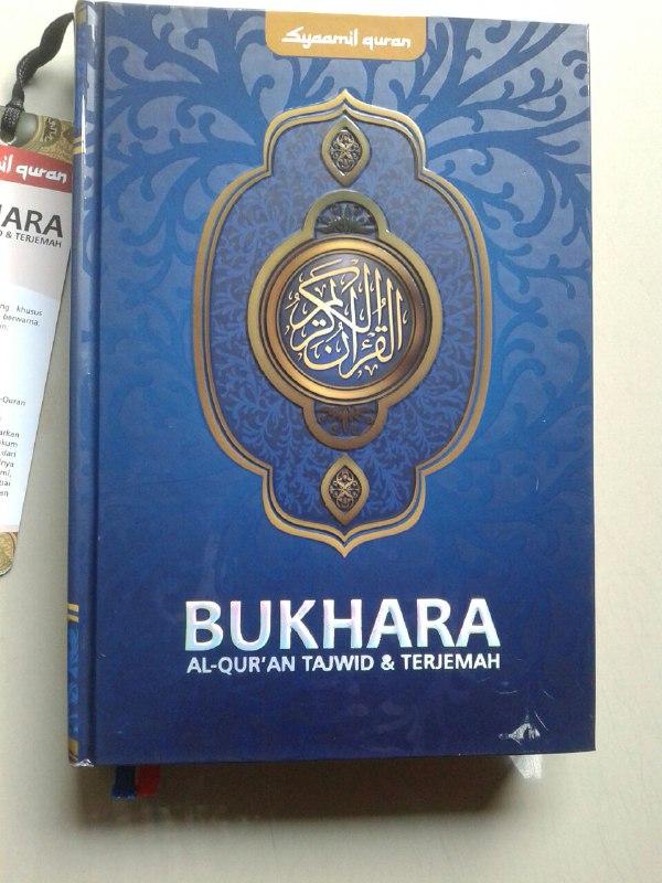 Al-Qur'an Terjemah Bukhara Syamil Tajwid Ukuran A5 cover