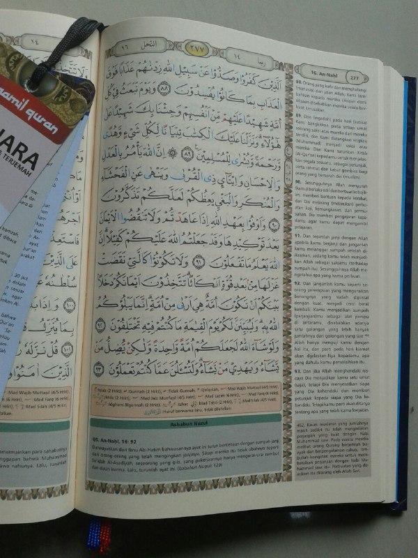 Al-Qur'an Terjemah Bukhara Syamil Tajwid Ukuran A5 isi 2