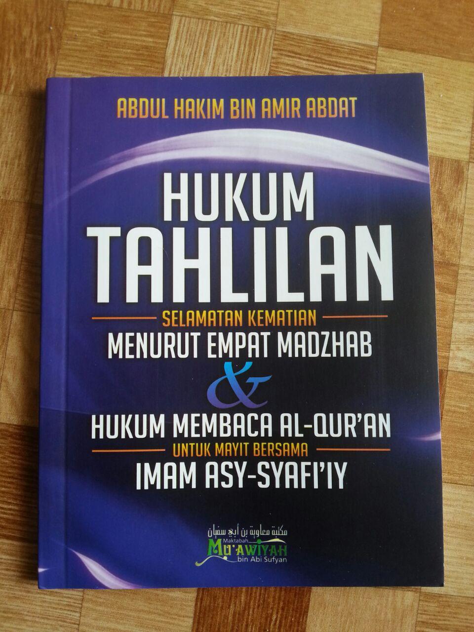Buku Hukum Tahlilan (Selametan Kematian) Menurut 4 Madzhab cover 2