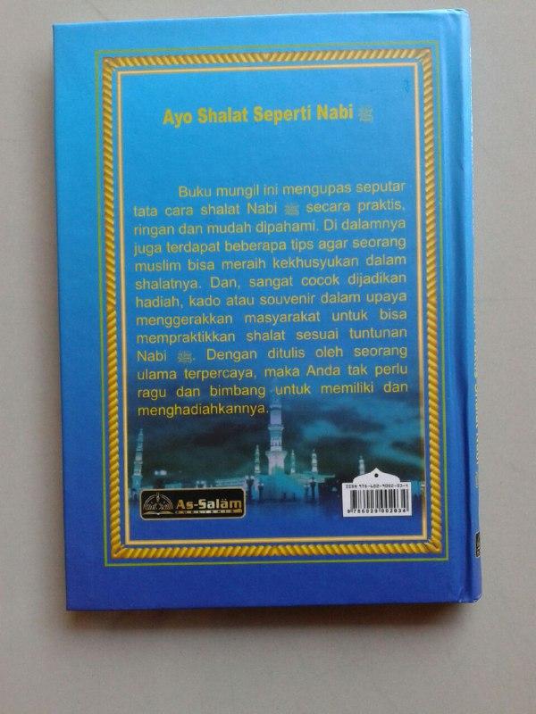 Buku Saku Tuntunan Praktis Shalat Nabi Dilengkapi Dzikir Ba'da Shalat cover 2