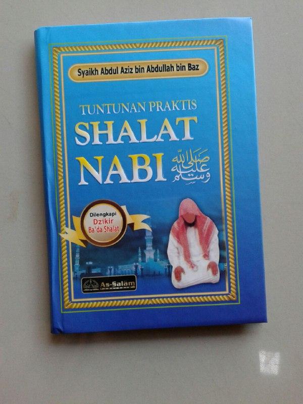 Buku Saku Tuntunan Praktis Shalat Nabi Dilengkapi Dzikir Ba'da Shalat cover