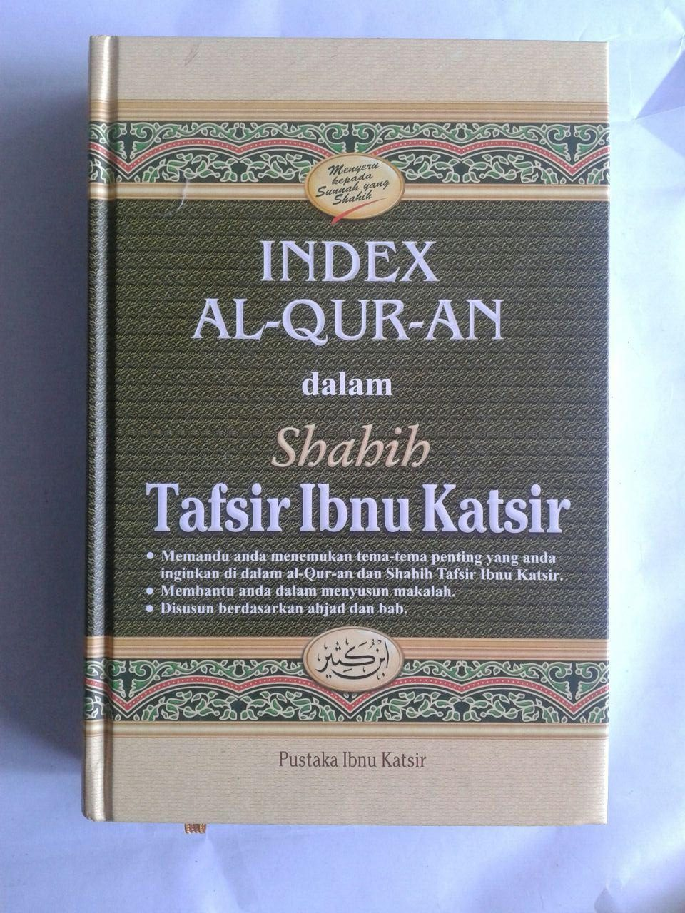 Buku Index Al-Qur'an Dalam Shahih Tafsir Ibnu Katsir cover 2