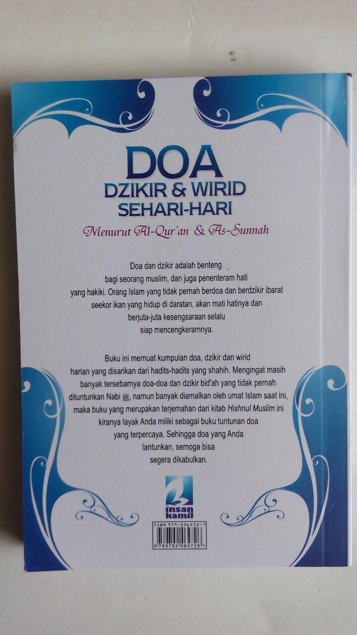 BK745 Buku Saku Doa Dzikir dan Wirid Sehari-Hari cover 2