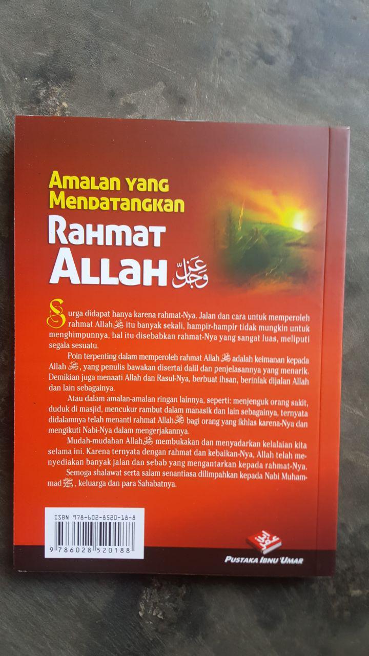 Buku Amalan Yang Mendatangkan Rahmat Allah cover 2