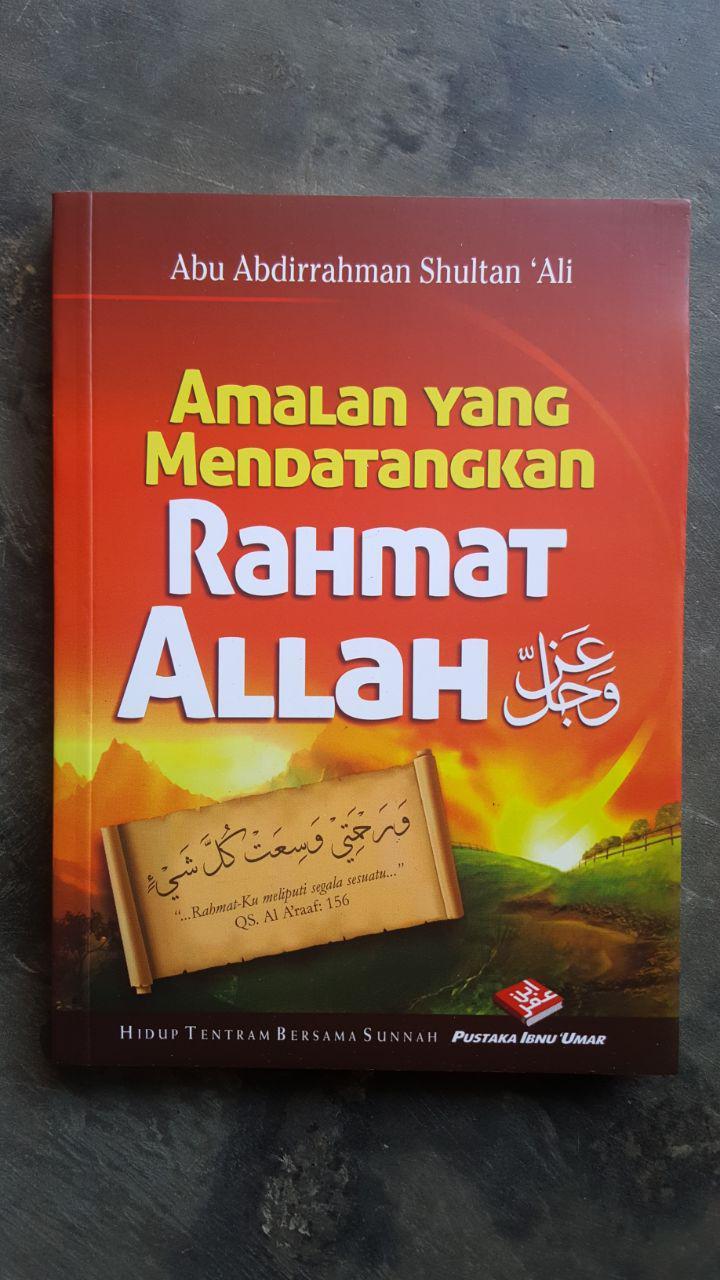 Buku Amalan Yang Mendatangkan Rahmat Allah cover