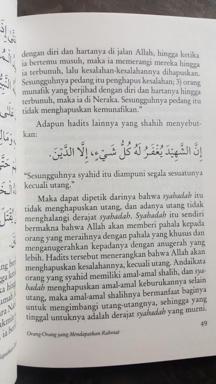 Buku Amalan Yang Mendatangkan Rahmat Allah isi 3