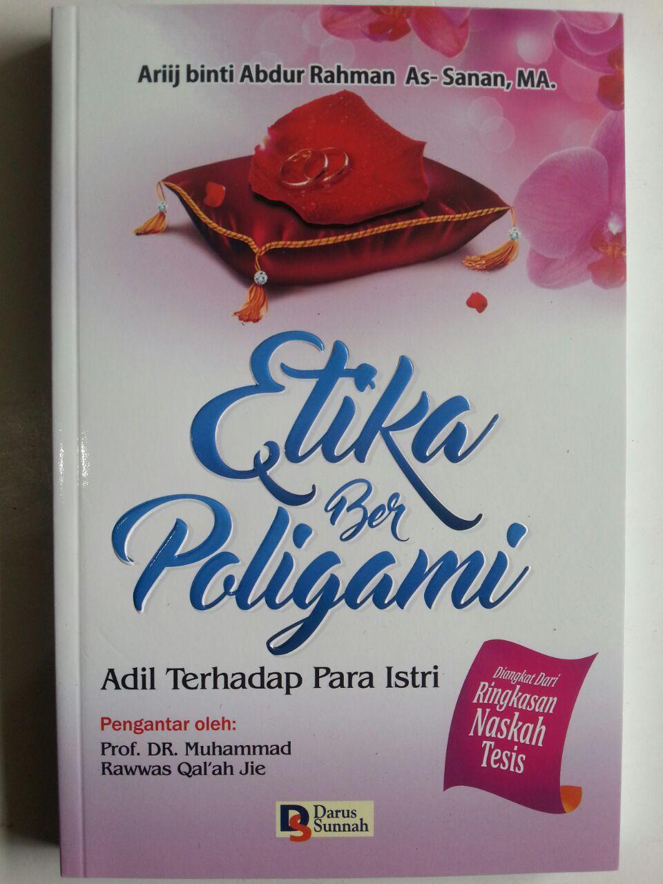 Buku Etika Berpoligami Adil Terhadap Para Istri cover 2