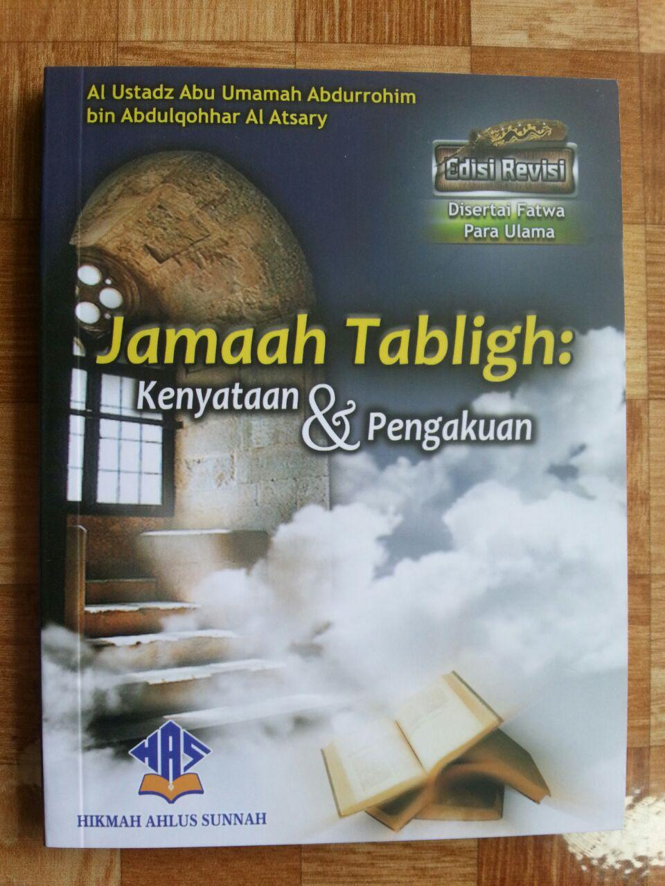 Buku Jamaah Tabligh Kenyataan Dan Pengakuan cover 2