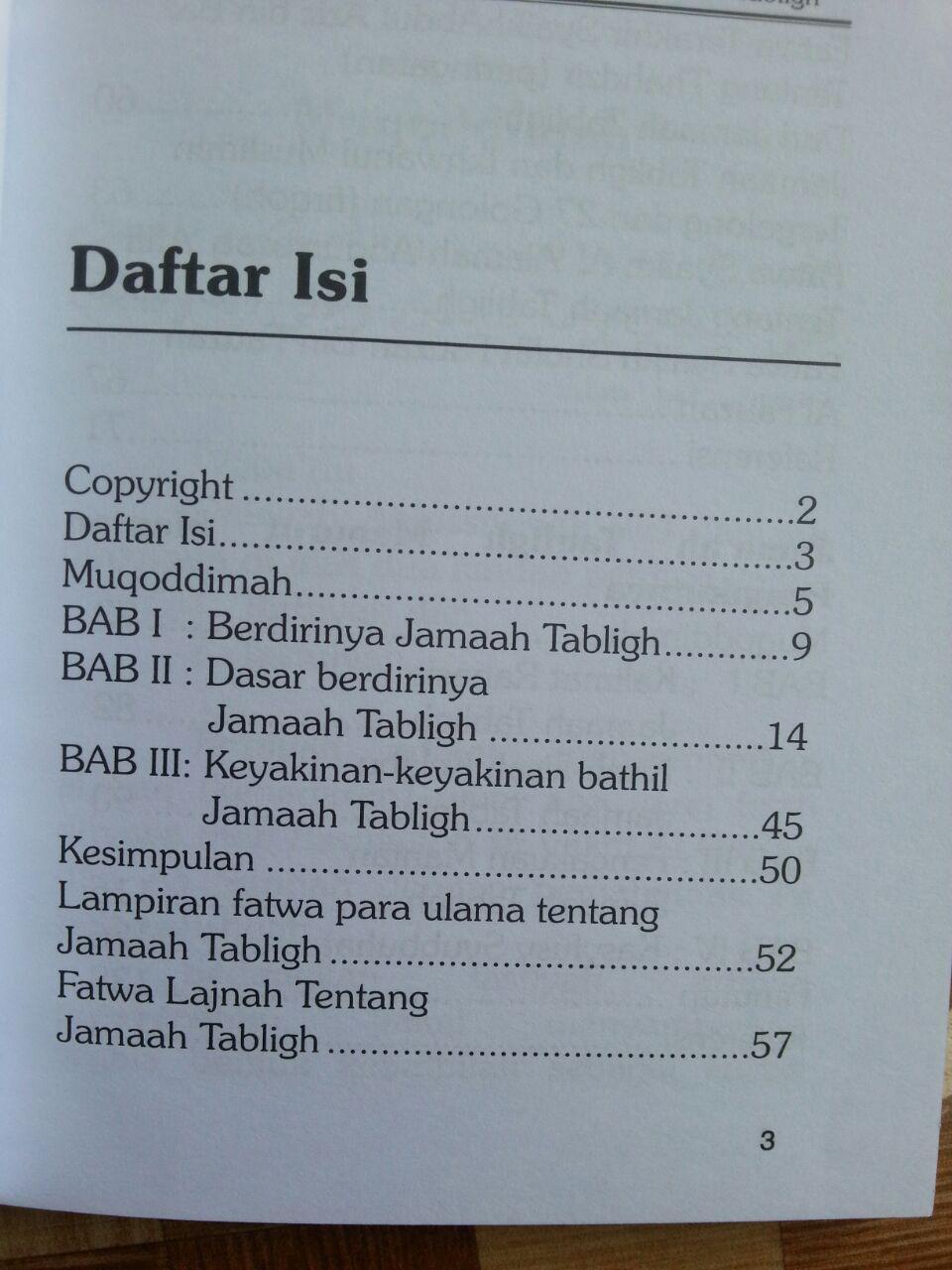 Buku Jamaah Tabligh Kenyataan Dan Pengakuan isi 2