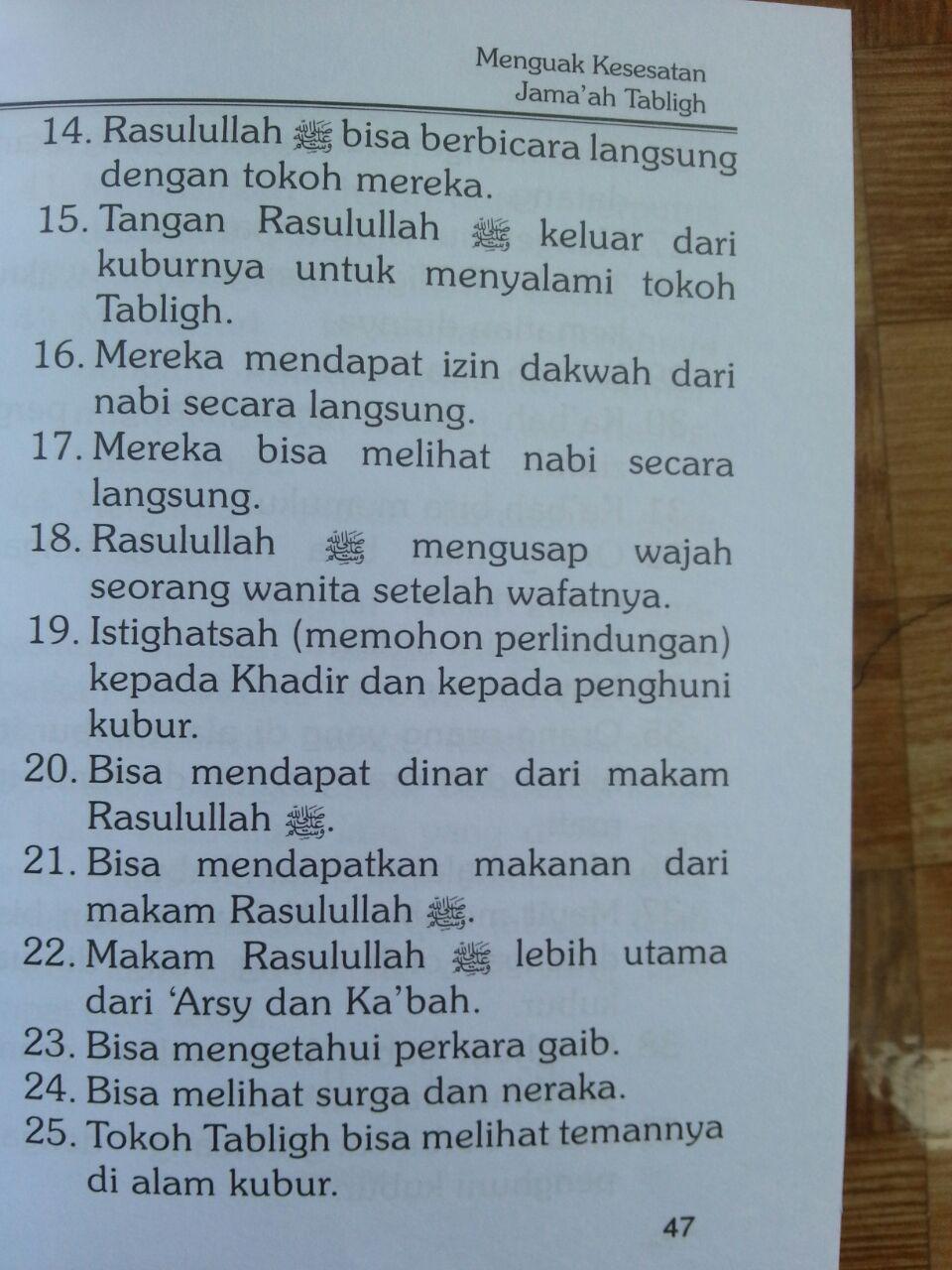 Buku Jamaah Tabligh Kenyataan Dan Pengakuan isi 3