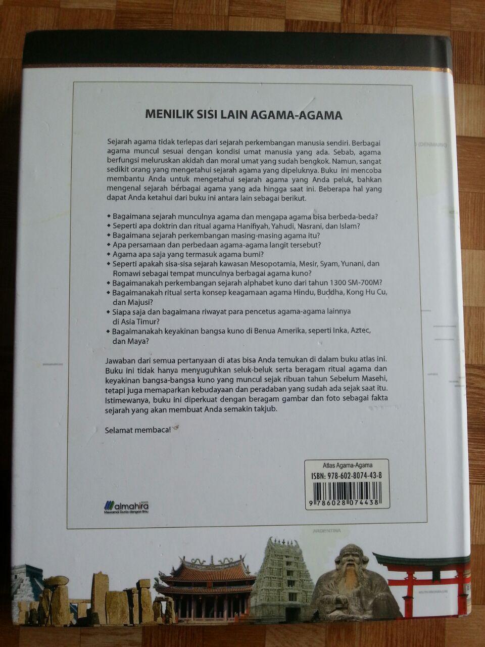 Buku Atlas Agama-Agama cover