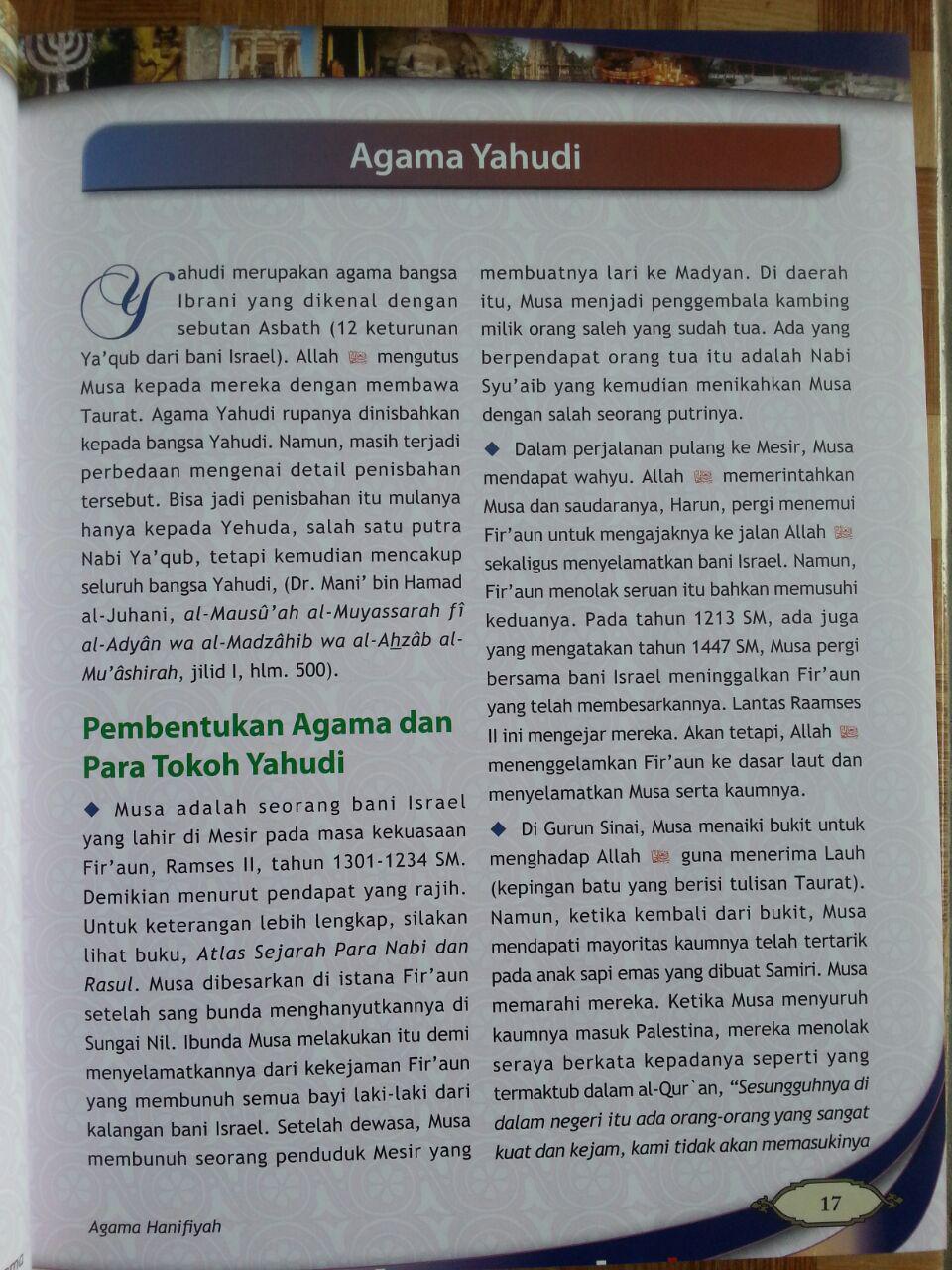 Buku Atlas Agama-Agama isi 2