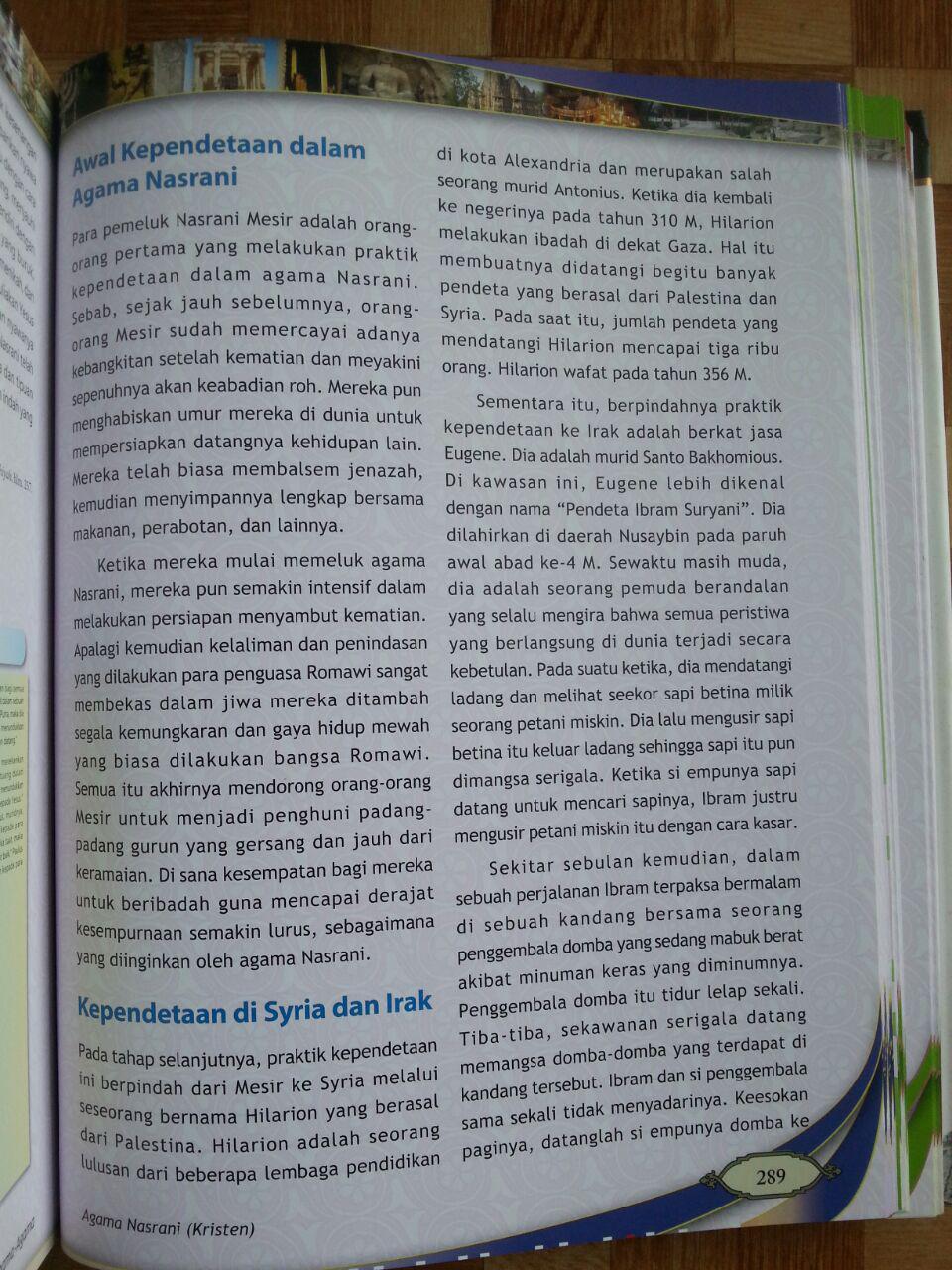 Buku Atlas Agama-Agama isi 3
