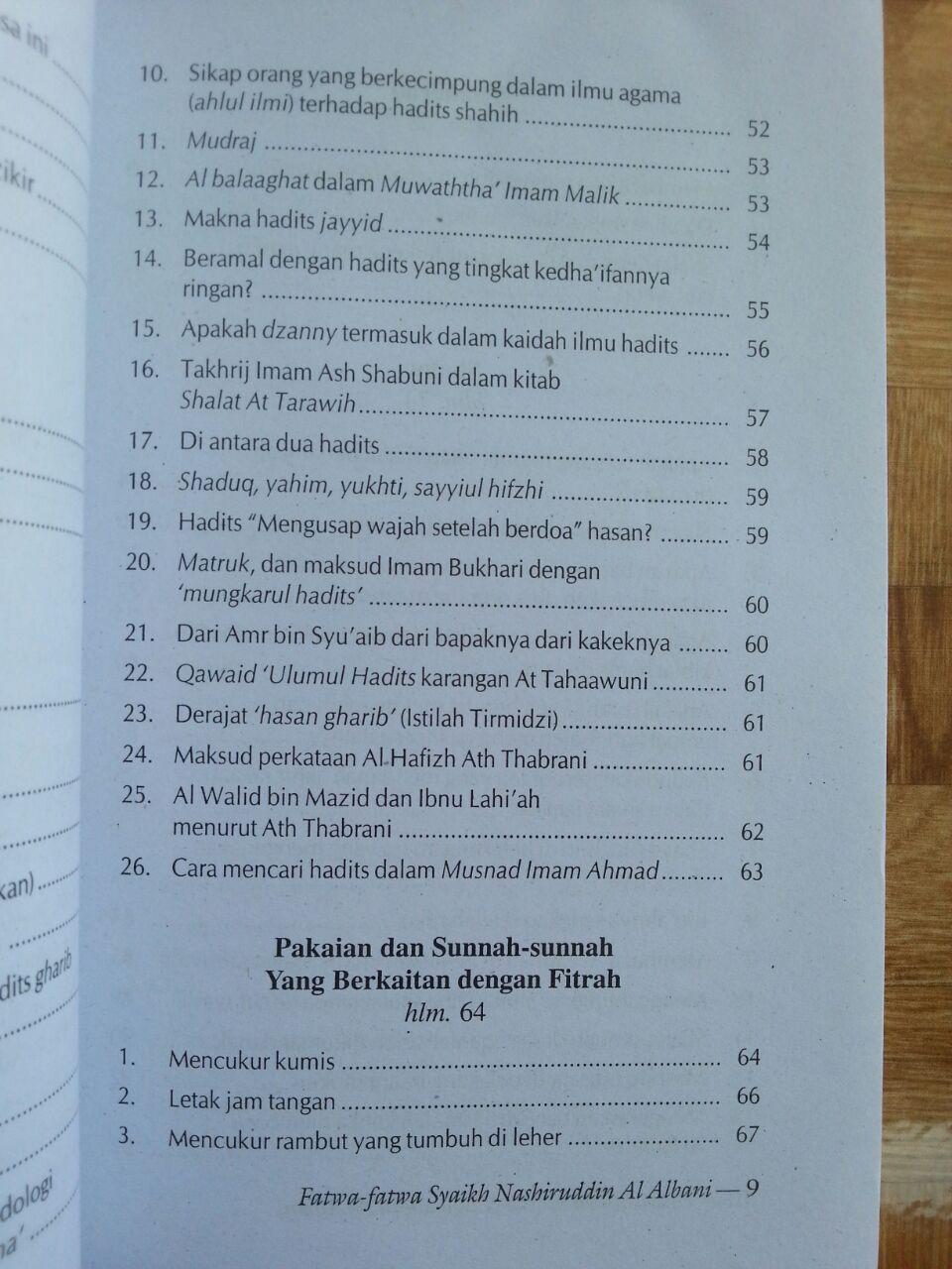 Fatwa-fatwa Syaikh Muhammad Nashiruddin al-Albani isi 2