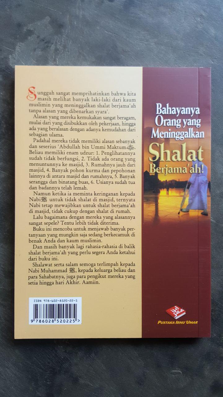 Buku Bahaya Orang Yang Meninggalkan Shalat Berjamaah cover 2