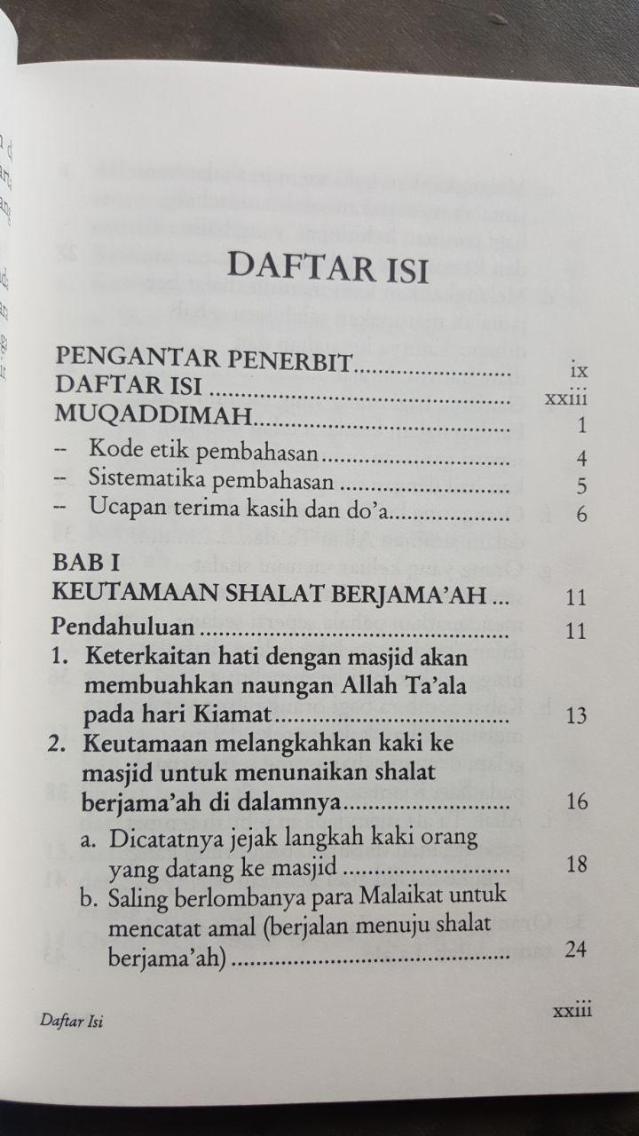 Buku Bahaya Orang Yang Meninggalkan Shalat Berjamaah isi 2