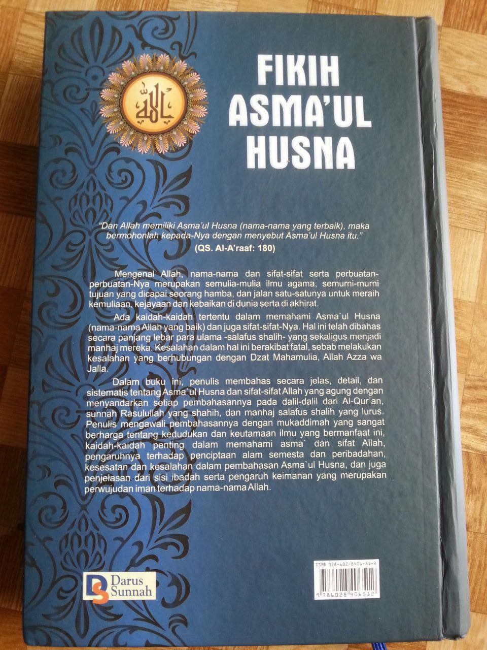 Buku Fikih Asma'ul Husna cover