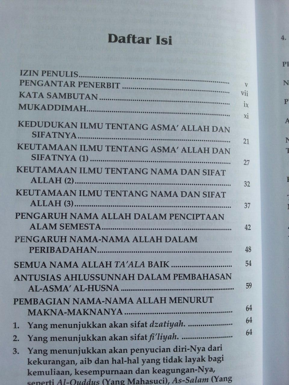 Buku Fikih Asma'ul Husna isi 2