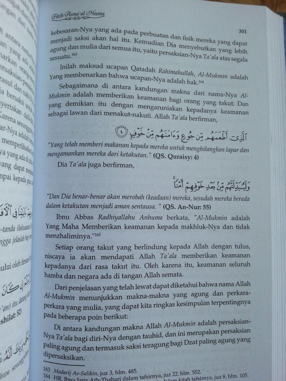 Buku Fikih Asma'ul Husna isi 4