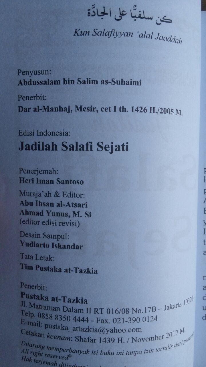 Buku Jadilah Salafi Sejati 24,000 ISI 2