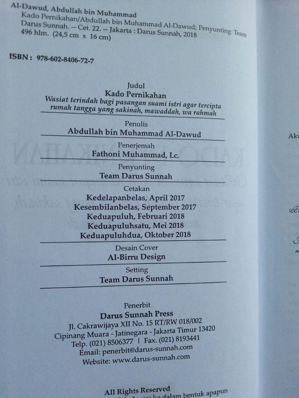 Buku Kado Pernikahan isi 3