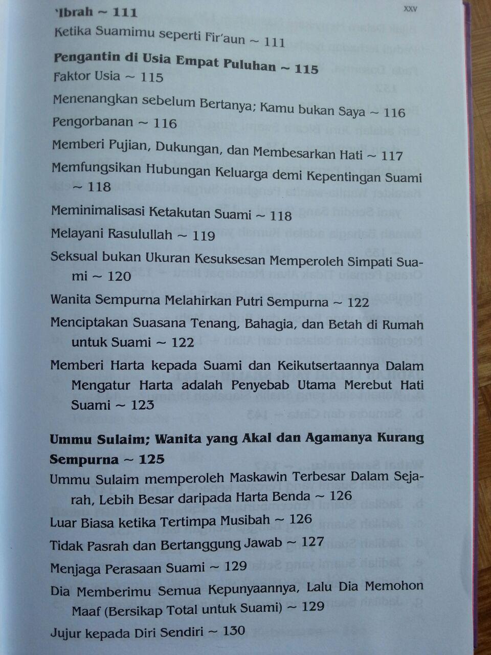 Buku Kado Pernikahan isi