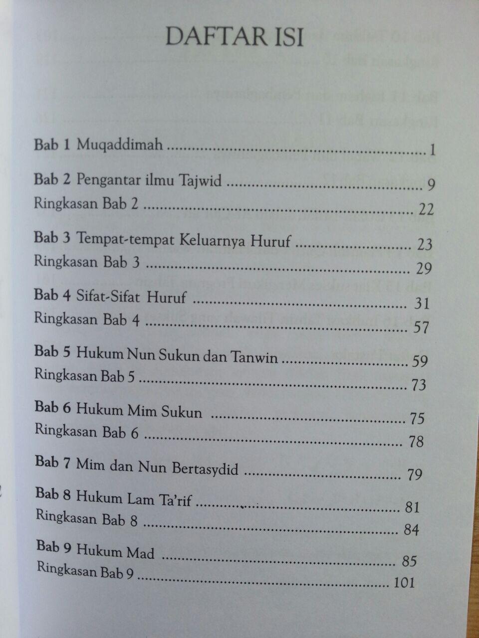Buku Pedoman Daurah Al-Qur'an Panduan Ilmu Tajwid isi 2