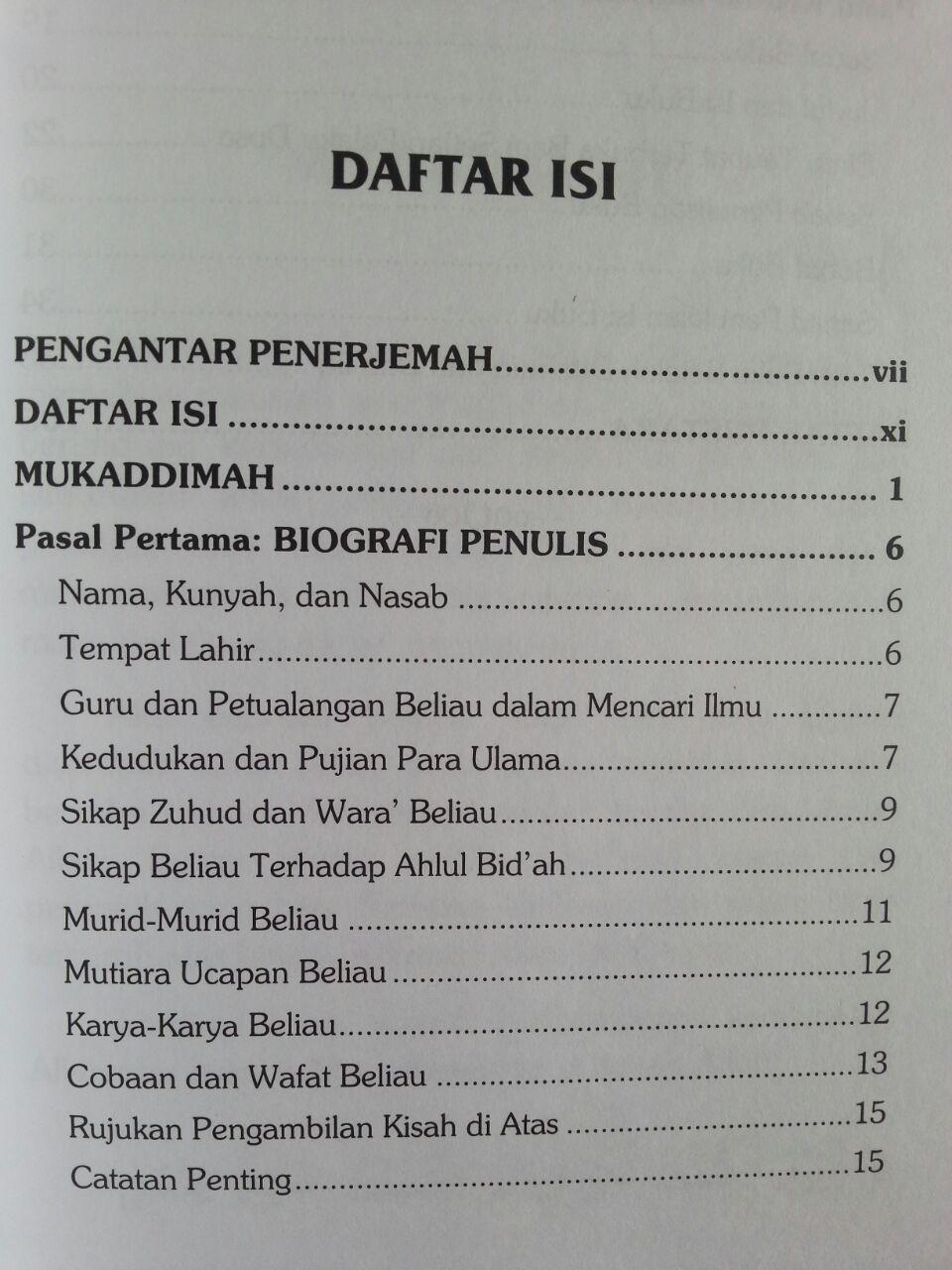 Buku Syarhus Sunnah 1 Jam Memahami Aqidah Islam isi 2