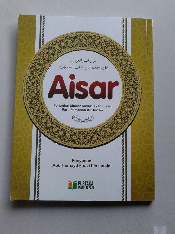 Buku Aisar Penuntun Mudah Meluruskan Lisan Pembaca Al-Quran cover