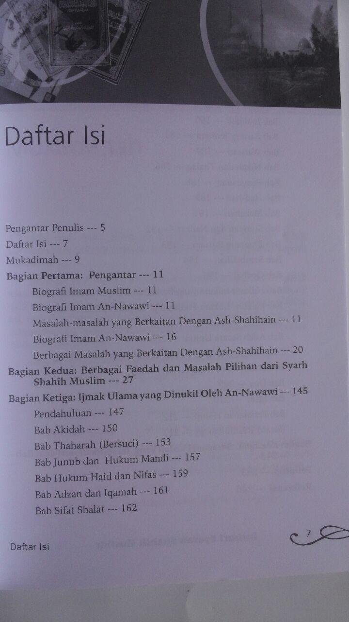 Buku 200 Poin Penting Dari Syarah Shahih Muslim isi 2