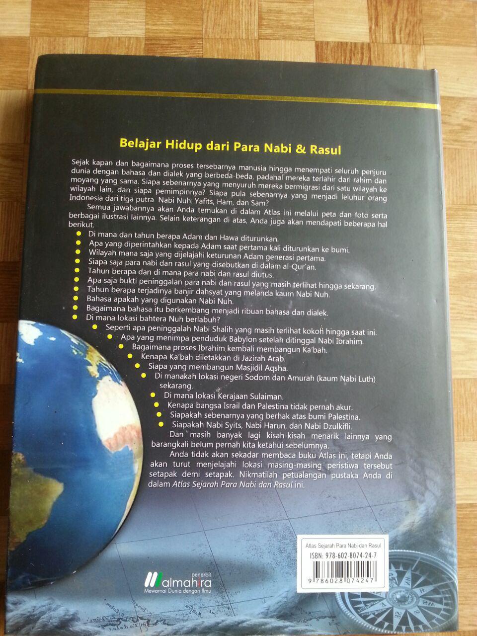 Buku Atlas Sejarah Para Nabi dan Rasul cover