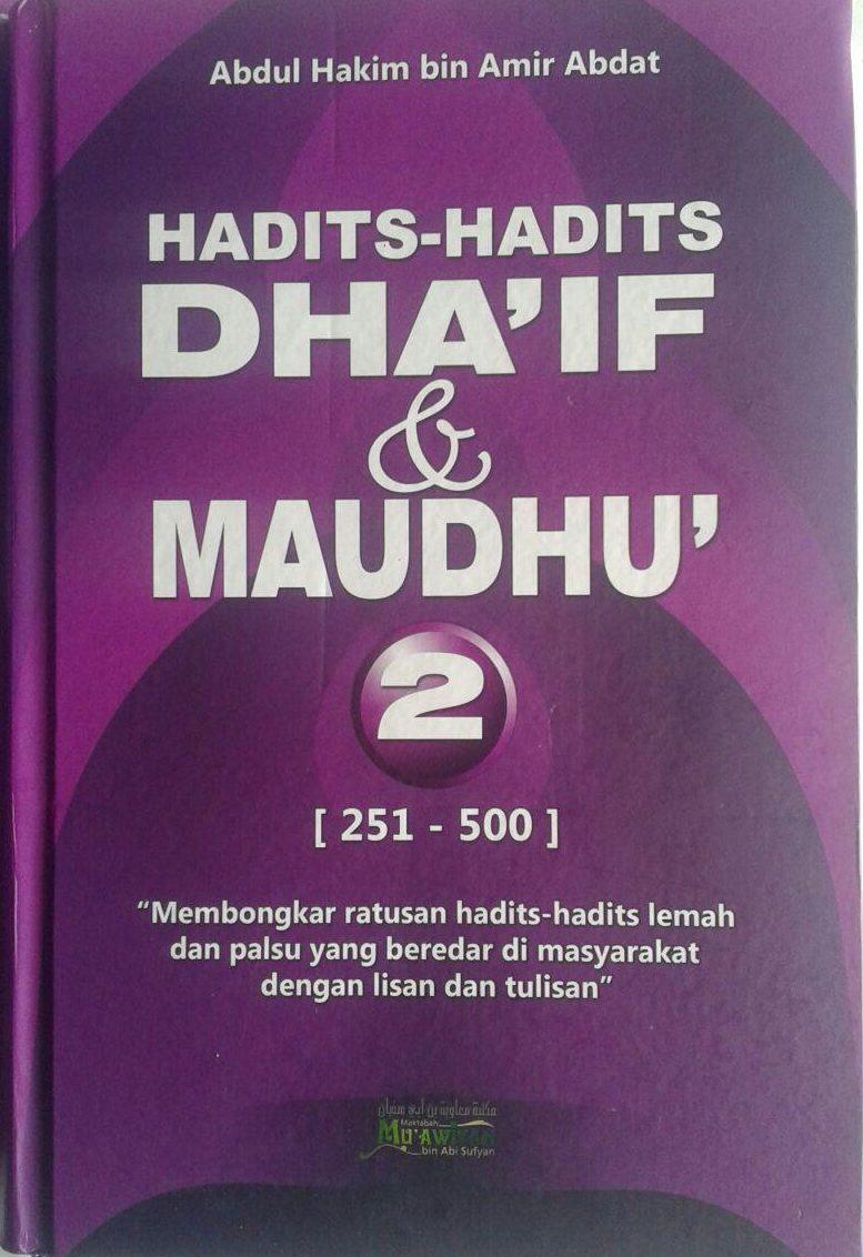 Buku Hadits-Hadits Dhaif dan Maudhu (2 Jilid) cover 3