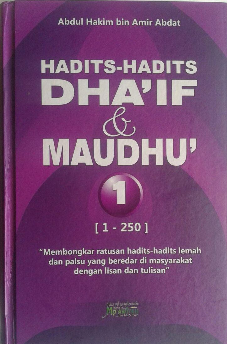 Buku Hadits-Hadits Dhaif dan Maudhu (2 Jilid) cover 4