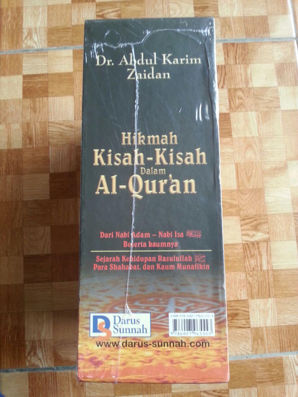 Buku Hikmah Kisah-Kisah Dalam Al-Qur'an cover