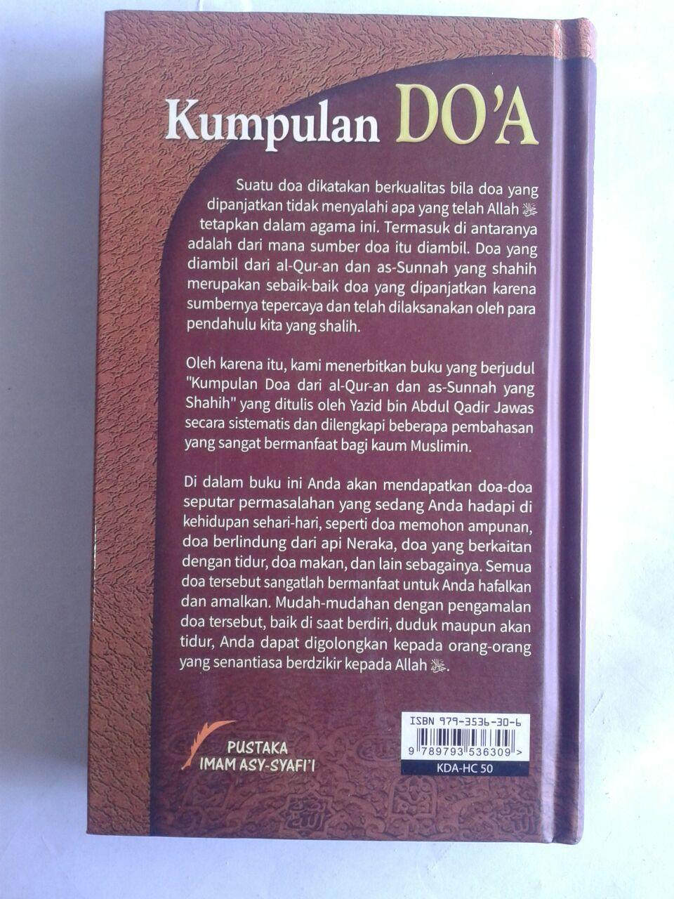 Buku Kumpulan Doa Dari Al-Quran dan As-Sunnah Yang Shahih cover 2