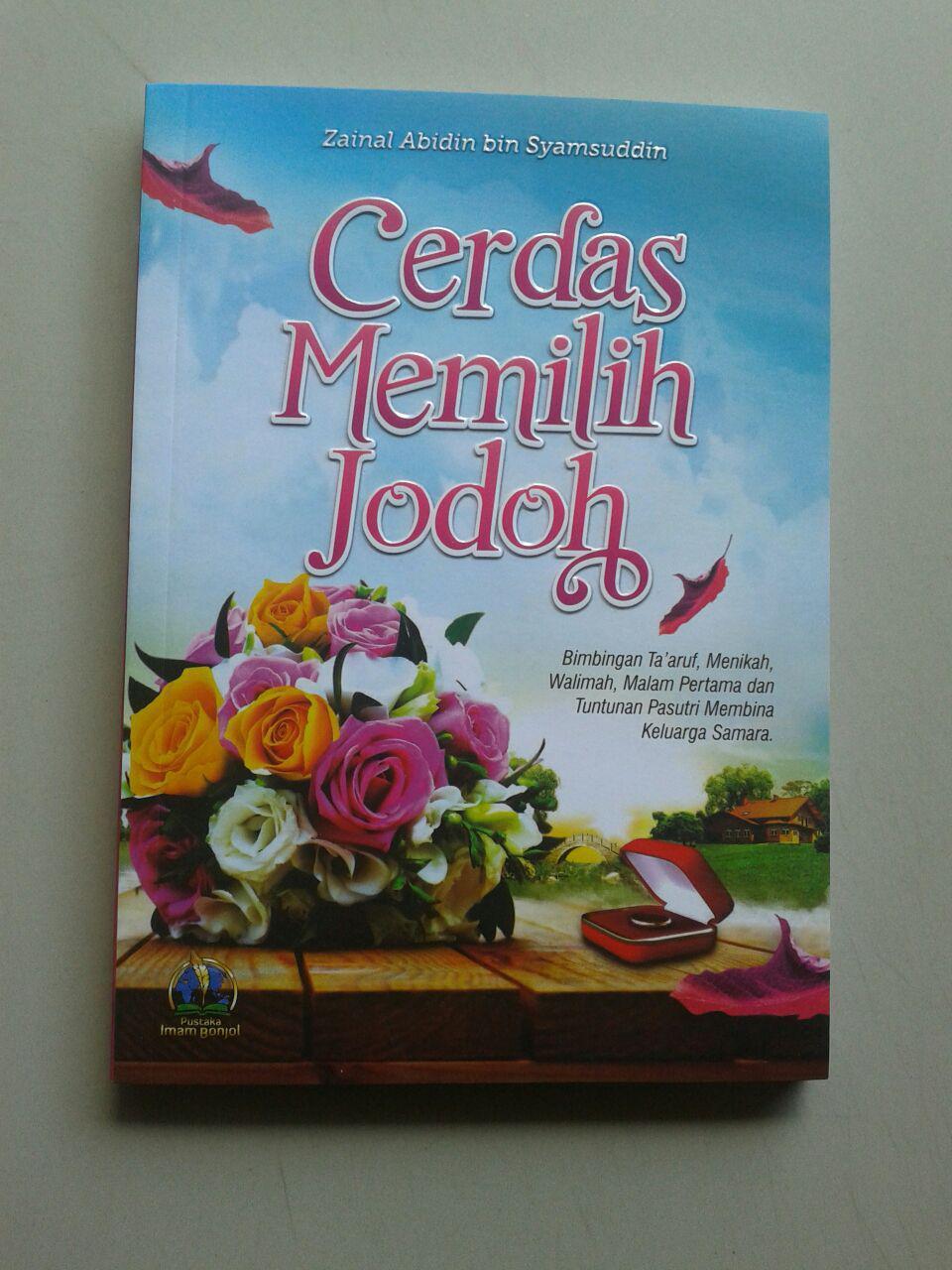 Buku Cerdas Memilih Jodoh cover 2