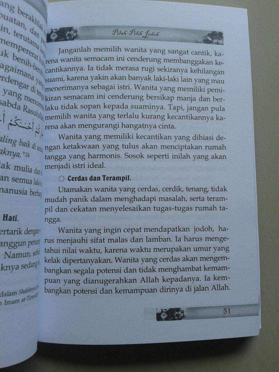 Buku Cerdas Memilih Jodoh isi 2