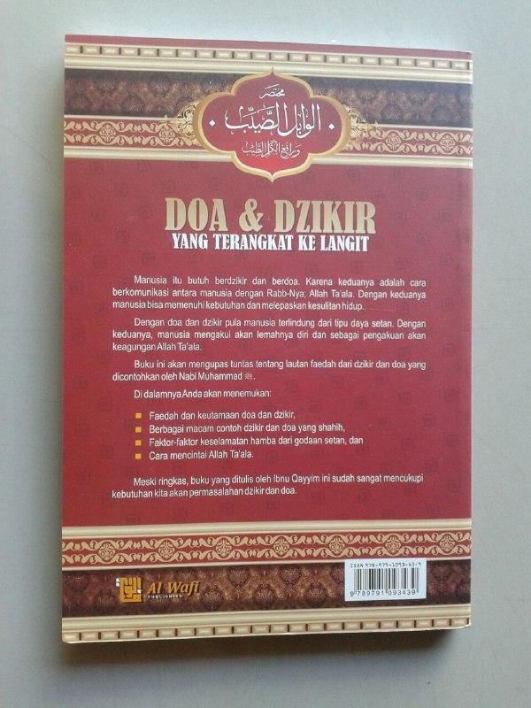 Buku Doa & Dzikir Yang Terangkat Ke Langit cover 2