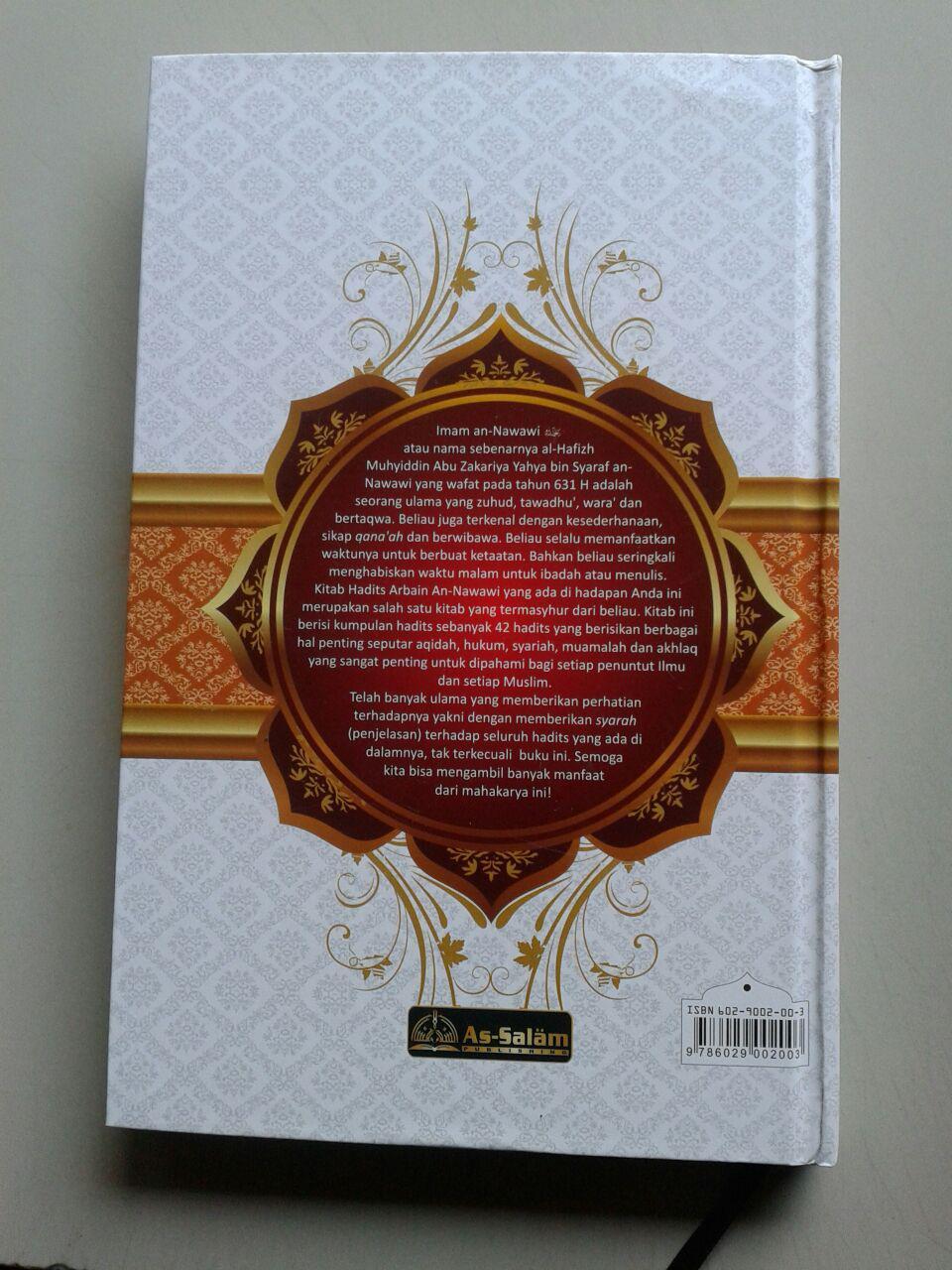 Buku Syarah Hadits Arba'in An-Nawawiyah cover