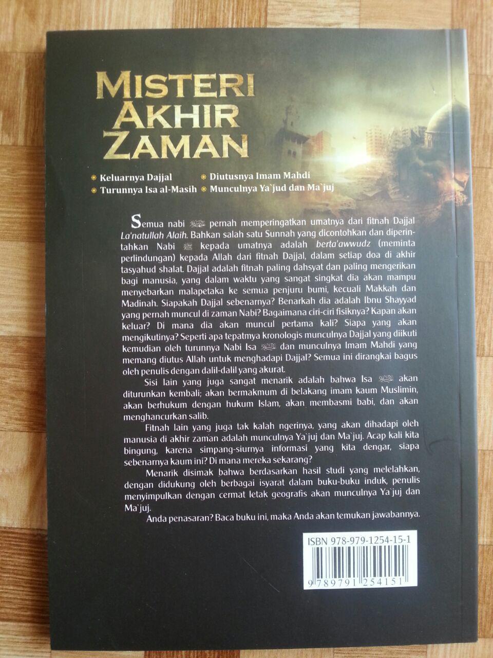 Buku Misteri Akhir Zaman cover