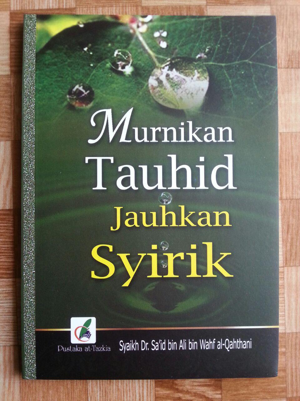 Buku Murnikan Tauhid Jauhkan Syirik cover 2