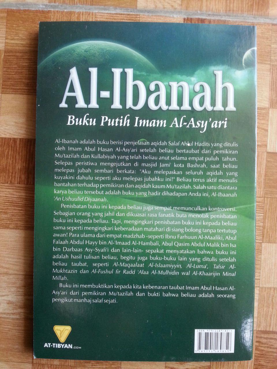 Buku Putih Imam Al-Asy'ari Al-Ibanah cover