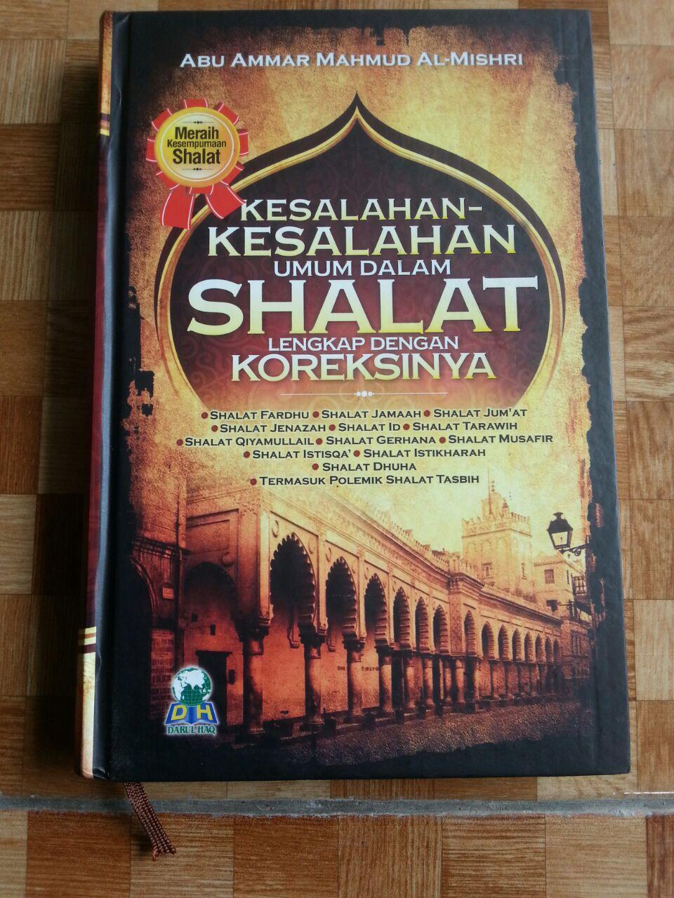 Buku Kesalahan-Kesalahan Umum Dalam Shalat Dan Koreksinya cover 2