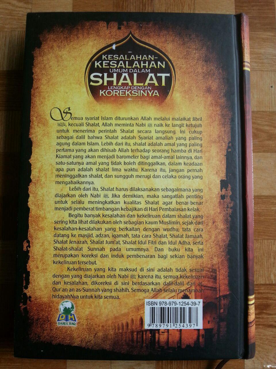 Buku Kesalahan-Kesalahan Umum Dalam Shalat Dan Koreksinya cover