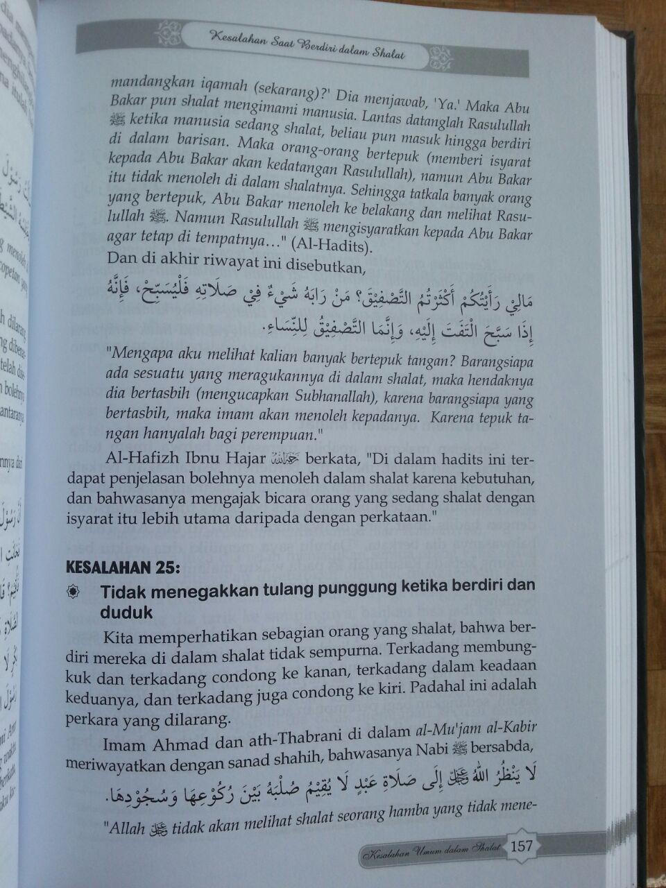 Buku Kesalahan-Kesalahan Umum Dalam Shalat Dan Koreksinya isi 4