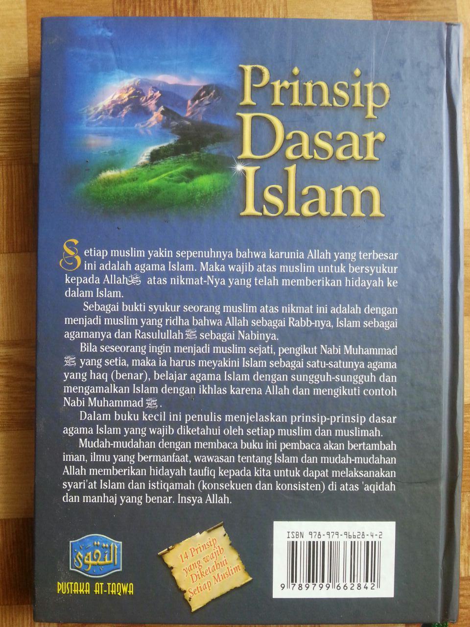 Buku Prinsip Dasar Islam Menurut Al-Qur'an Dan As-Sunnah cover