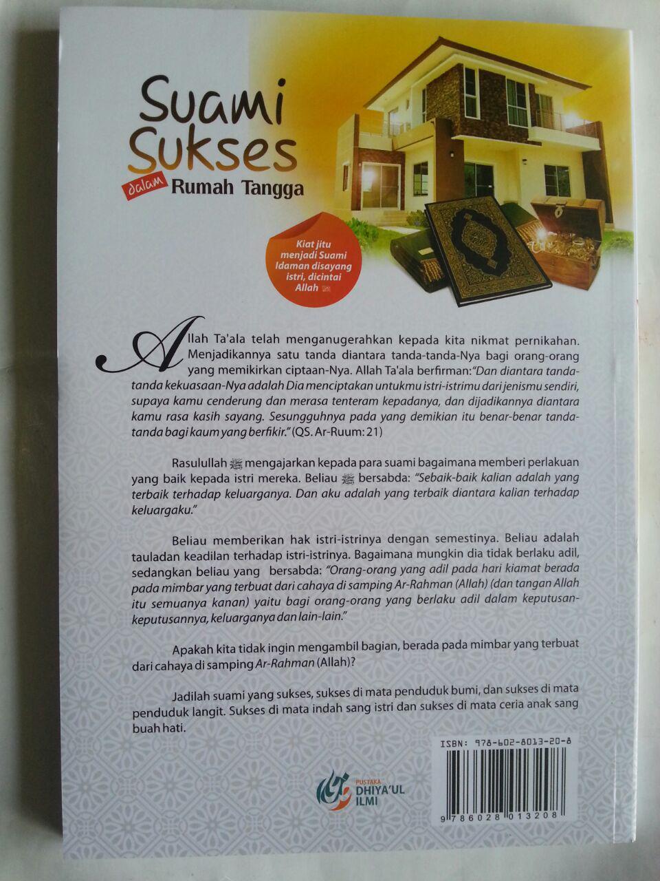 Buku Suami Sukses Dalam Rumah Tangga Kiat Jitu Menjadi Suami Idaman cover