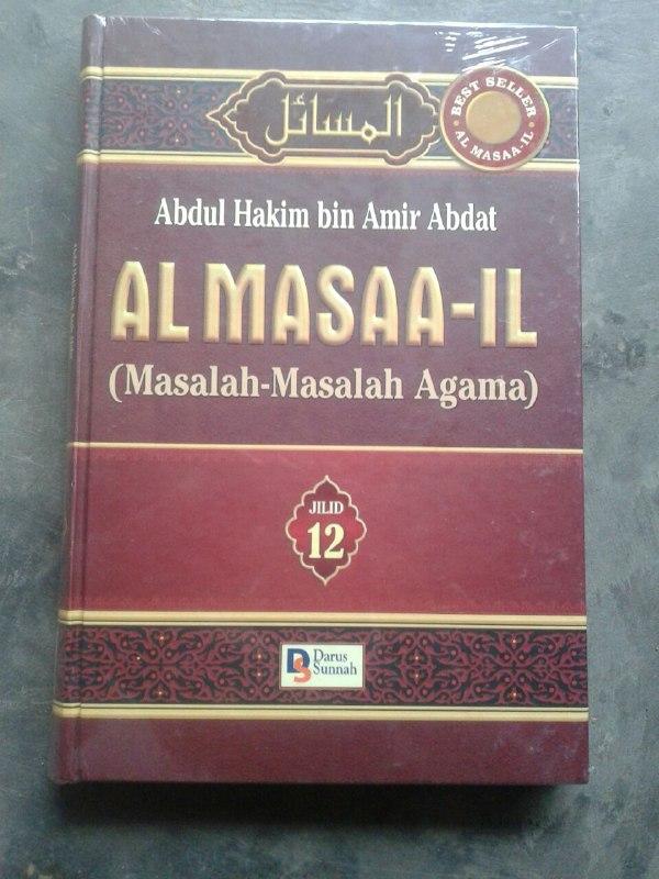 Buku Al-Masaa'il Permasalahan Agama 1 Set 12 Jilid cover 2
