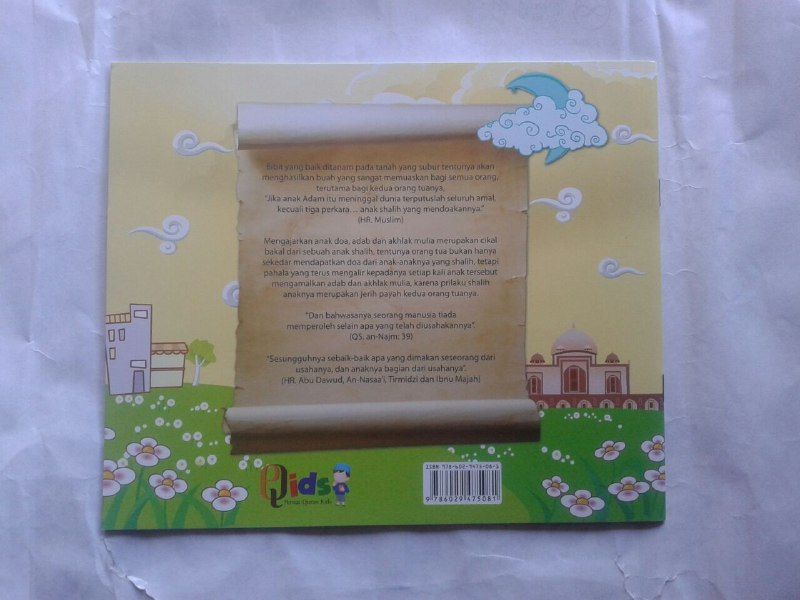 Buku Anak Doa-doa Pilihan dan Adab cover 2